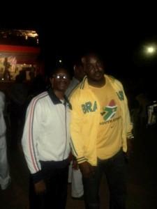 Au Festival Couleurs Urbaines en 2011 à Yaoundé