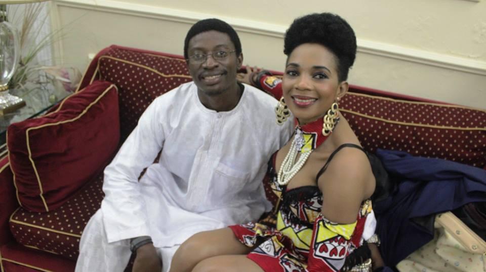 Daniel Ndieh et Lady Ponce