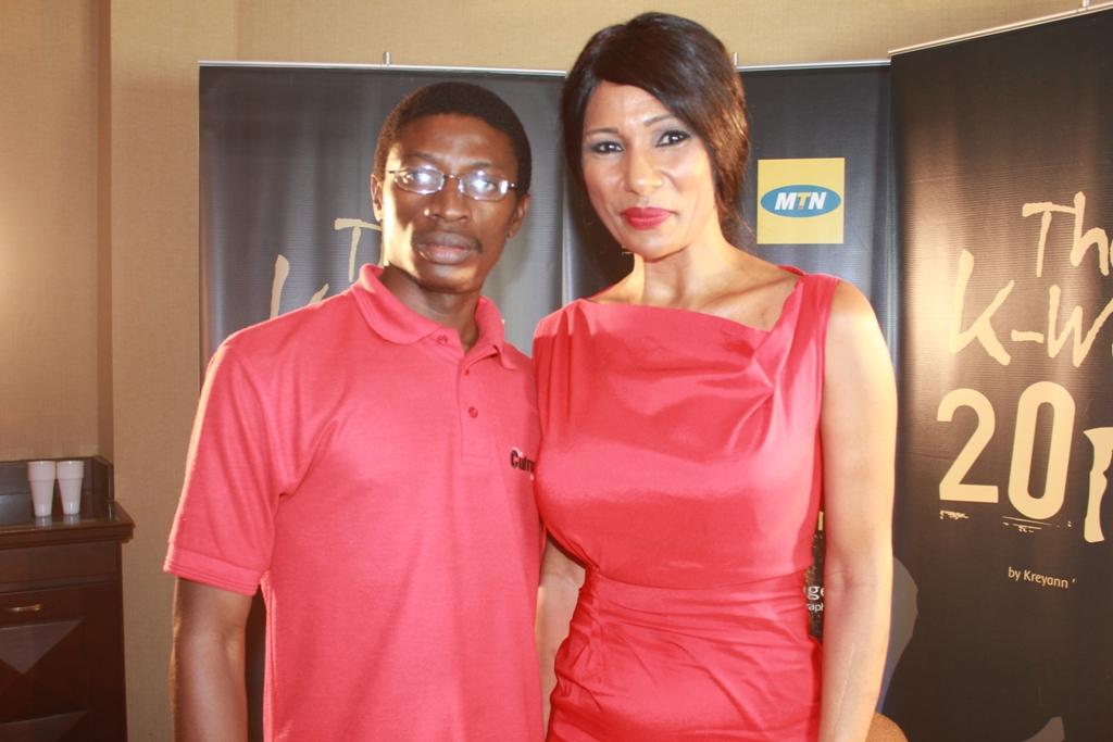 Daniel Ndieh et Nayanka Bell
