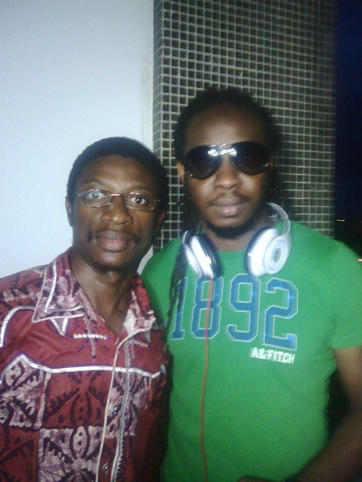Daniel Ndieh et la star ivoirienne Soum Bill