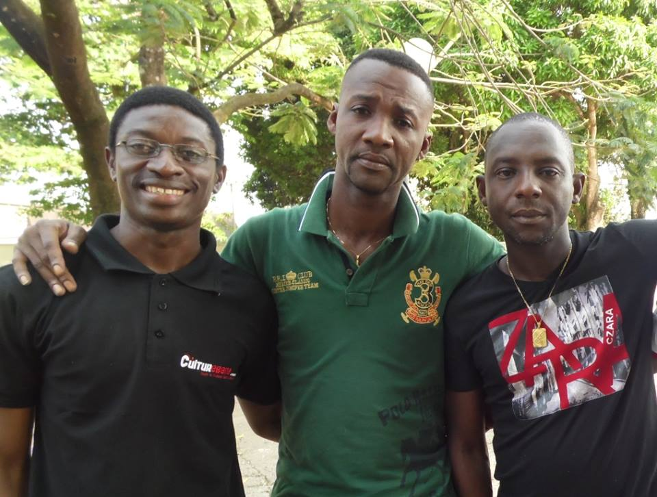 Daniel Ndieh et le groupe ivoirien ESPOIR 2000