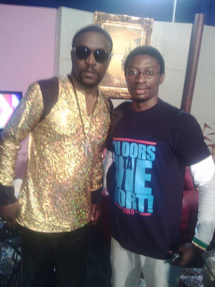 La star ivoirienne Meiway et Daniel Ndieh