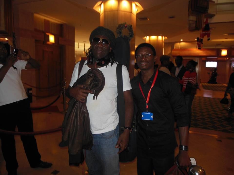 Richard Bona et Daniel Ndieh au Hilton Hôtel (Yaoundé)