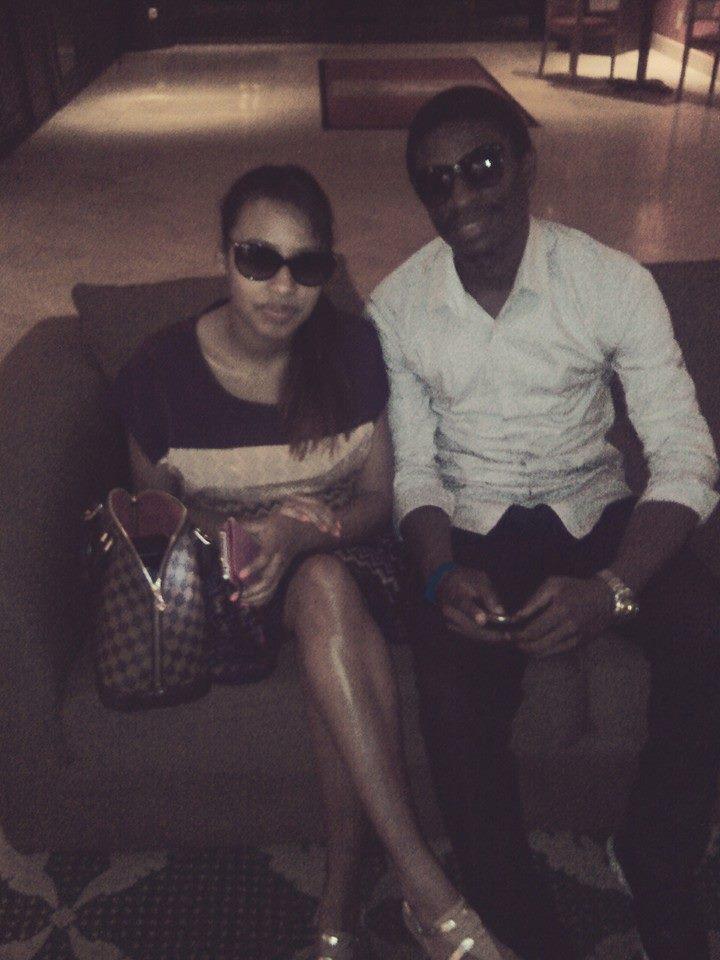 Teeyah et Daniel Ndieh au Hilton Hôtel de Yaoundé